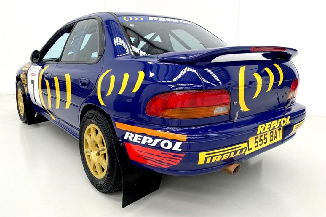 Subaru Wrc Car 2cc