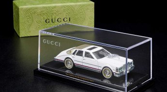 1982 Cadillac Seville Gucci Hot Wheels Top Box With Car