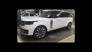 Novo Range Rover 2022 Vogue flagra